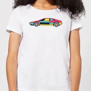 Classic Sports Car Women's T-Shirt - White