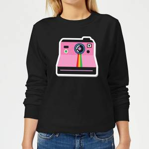 Polaroid Women's Sweatshirt - Black
