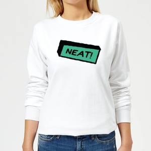 Neat! Women's Sweatshirt - White