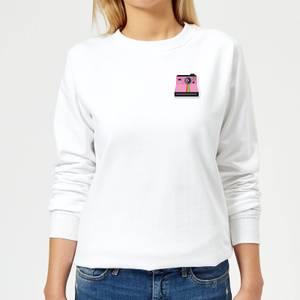 Small Polaroid Women's Sweatshirt - White