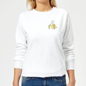 Small Banana Women's Sweatshirt - White
