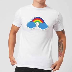 Rainbow Men's T-Shirt - White