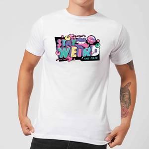 Stay Weird Men's T-Shirt - White