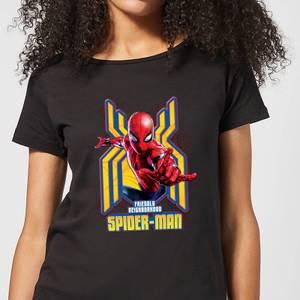 Spider Man Far From Home Friendly Neighborhood Spider-Man Women's T-Shirt - Black