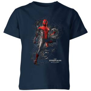 Spider-Man: Far From Home Upgraded Suit kinder t-shirt - Navy