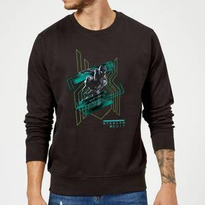 Spider-Man Far From Home Stealth Suit Sweatshirt - Black