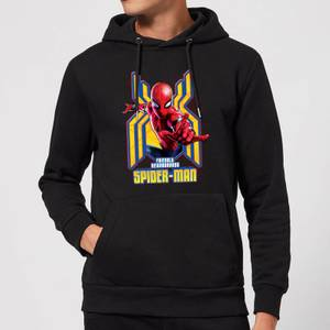 Spider Man Far From Home Friendly Neighborhood Spider-Man Hoodie - Black