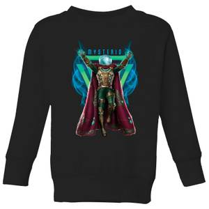 Spider-Man Far From Home Mysterio Magic Kids' Sweatshirt - Black