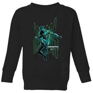 Spider-Man Far From Home Stealth Jump Kids' Sweatshirt - Black