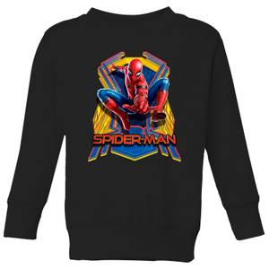 Spider-Man Far From Home Jump Kids' Sweatshirt - Black