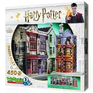 Harry Potter Winkelgasse 3D Puzzle (450 Stücke)