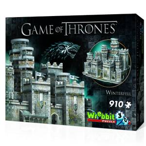 Game of Thrones: Winterfell 3D Puzzle (910 Stücke)