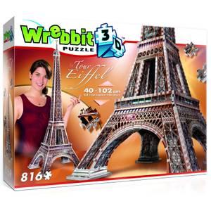 Wrebbit Eiffel Tower 3D Puzzle (816 Pieces)