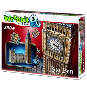 Wrebbit Big Ben and Parliament 3D Puzzle (890 Pieces)