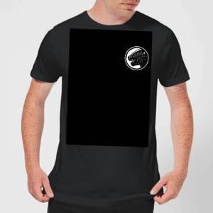 Godzilla King Of Monsters Prehistoric Monster Double Sided Men's T-Shirt - Black