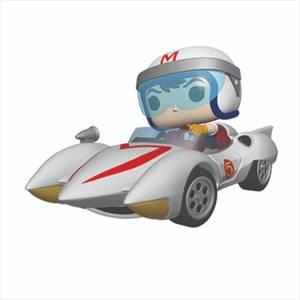 Figurine Pop! Ride Speed Avec Mach 5 - Speed Racer