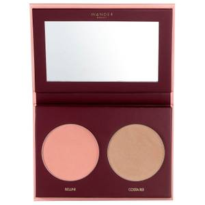 Wander Beauty Trip for Two Blush and Bronzer Duo - Bellini 0.28 oz
