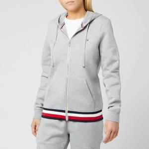 Tommy Hilfiger Women's Heritage Zipthrough Hoodie - Light Grey Heather