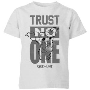 Gremlins Trust One Mogwai Kids' T-Shirt - Grey