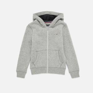 Tommy Hilfiger Boys' Essential Zip Up Hoody - Grey Heather