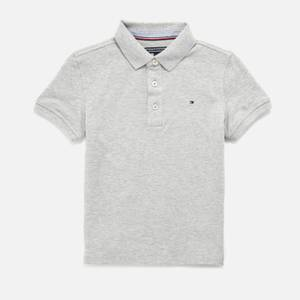Tommy Hilfiger Boys' Short Sleeve Polo Shirt - Grey