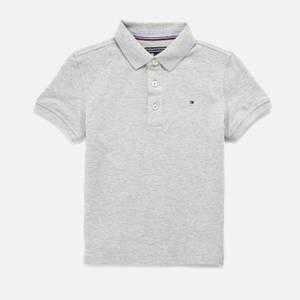 Tommy Hilfiger Boys' Short Sleeve Polo Shirt - Grey