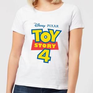 Toy Story 4 Logo Women's T-Shirt - White
