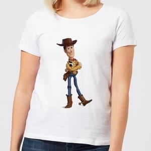 Toy Story 4 Woody Women's T-Shirt - White