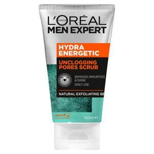 L'Oréal Paris Men Expert Hydra Energetic Unclogging Pores Scrub 100ml
