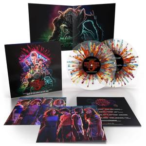Stranger Things 3 (Original Score From The Netflix Series) 2xLP (Fireworks Splatter)