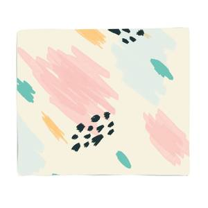Abstract Pen Marks Fleece Blanket