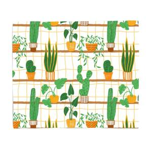 Cacti Fleece Blanket