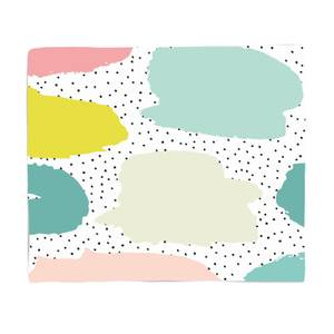 Spotty Blobs Fleece Blanket