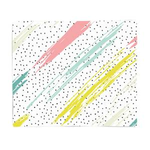 Abstract Lines Fleece Blanket