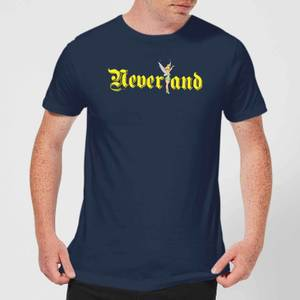 Disney Peter Pan Tinkerbell Neverland Men's T-Shirt - Navy