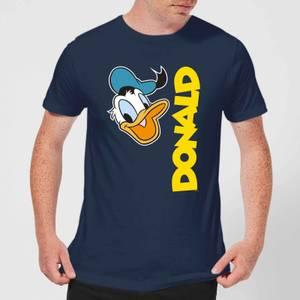 Disney Donald Duck Face Men's T-Shirt - Navy
