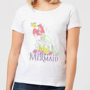 Disney Little Mermaid Women's T-Shirt - White