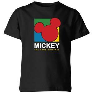 Disney Mickey The True Original Kids' T-Shirt - Black