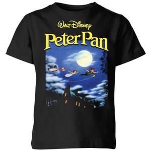 Disney Peter Pan Cover Kids' T-Shirt - Black