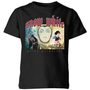 Disney Snow White And Queen Grimhilde Kids' T-Shirt - Black