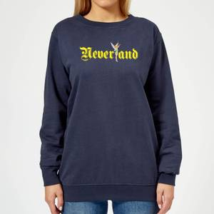 Disney Peter Pan Tinkerbell Neverland Women's Sweatshirt - Navy