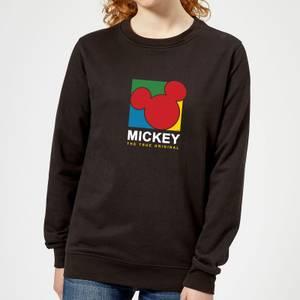Disney Mickey The True Original Women's Sweatshirt - Black