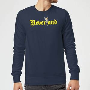 Disney Peter Pan Tinkerbell Neverland Sweatshirt - Navy