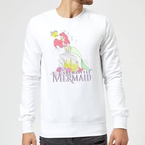 Disney Little Mermaid Sweatshirt - White