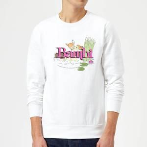 Disney Bambi Kiss Sweatshirt - White