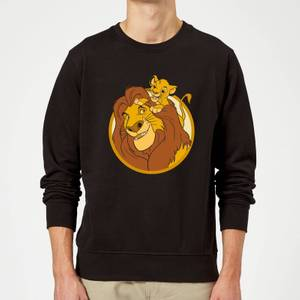 Disney Mufasa & Simba Sweatshirt - Black