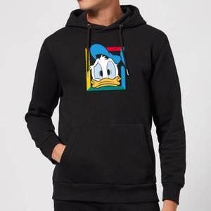 Disney Donald Face Hoodie - Black