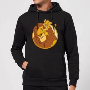 Disney Mufasa & Simba Hoodie - Black