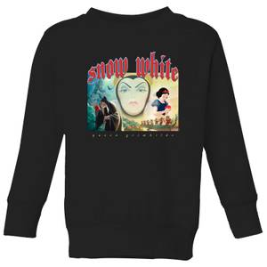 Disney Snow White And Queen Grimhilde Kids' Sweatshirt - Black