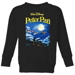 Disney Peter Pan Cover Kids' Sweatshirt - Black